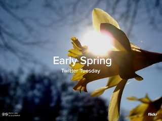 Twitter Tuesday: Early Spring