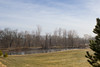 The Pond (marylea) Tags: morning blue sky clouds rural landscape pond cornfield midwest michigan farm bluesky 2016 mar12