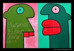 Hommage an die junge Generation (1990) - Thierry Noir, East Side Gallery, Berlin (Marc Funkleder Photography) Tags: streetart color berlin art germany deutschland graffiti nikon tag berlinwall allemagne couleur eastsidegallery berlinermauer artderue d600 murdeberlin 2470mm28 thierrynoir nikond600 mhlenstrase hommageandiejungegeneration