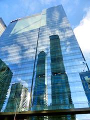 Toronto Skyscraper (duaneschermerhorn) Tags: distortion toronto ontario canada reflection building glass architecture modern skyscraper design contemporary highrise modernarchitecture contemporaryarchitecture glassfacade