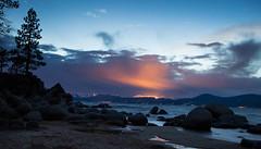 Sand Harbor at night (thereshegoesagain) Tags: nightphotography tahoe sandharbor
