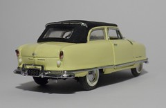 1950 Nash Rambler Custom Convertible (14) (dougie.d) Tags: usa scale car franklin model mint bathtub hudson nash rambler cabrio 1950 modelcar cabriolet pininfarina 143 diecast kelvinator landau franklinmint airflyte automodel modelauto