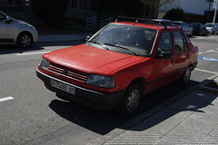 Peugeot 309 GLD (Jusotil_1943) Tags: cars coche baca redcars 060416