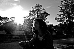 Into the Light (Marco_964) Tags: bw sun sole bianconero