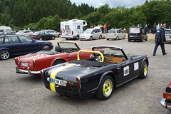 Triumph TR4A (elbaracuda2002) Tags: auto car race racecar germany deutschland classiccar automotive eifel triumph oldtimer motorsport nrburgring youngtimer tr4a grnehlle rennwagen worldcars
