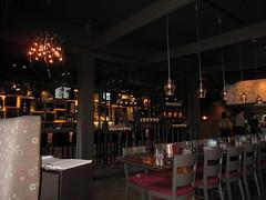 Nice and dark (jamica1) Tags: canada bar pub bc chairs okanagan columbia canadian grill tables british kelowna brewhouse