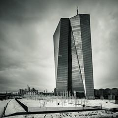The dark side of the force (*altglas*) Tags: tower architecture modern skyscraper ir frankfurt infrared architektur ecb hochhaus ezb infrarot osthafen