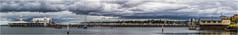 Cunningham Pier (RissaJT_23) Tags: panorama storm water clouds canon boats pier waterfront australia melbourne victoria 1850s iconic geelong geelongwaterfront westernbeach cunninghampier coriobay canon1740mm railwaypier canon6d cityofgreatergeelong canoneos6d 6shotpanorama baverasbrasserie