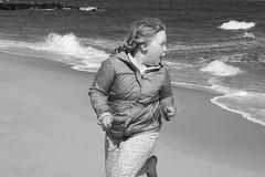 Tabby @ the Beach (TheFairView) Tags: ocean beach tabby oceangrove