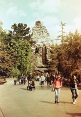 Matterhorn Redscale Disneyland (lammyracer) Tags: disneyland matterhorn