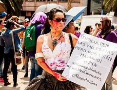 Nos estn matando. (Yamileth Ruiz Avia) Tags: woman mxico mujer women mexicocity df abril 24 mujeres marcha feminists feministas 2016 24a ciudaddemxico feminista marchafeminista vivasnosqueremos