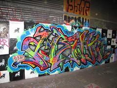 Abak graffiti, Leake Street (duncan) Tags: graffiti abak leakestreet