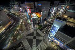 Intersection (daccha) Tags: city light urban japan night way landscape tokyo nikon cityscape nightscape sigma intersection