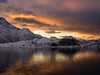 """""""I became interested in photography when I found my own sketching was inadequate"""" (katrin glaesmann) Tags: winter norway sunrise norwegen lofoten 2016 frommybalcony ilovethatbalcony wwwicelandtoursnet bestbalconyever"""