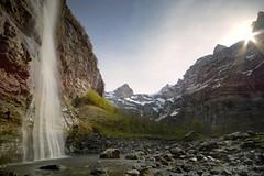 Face  Face (jean paul lesage) Tags: longexposure alps nature water alpes landscape waterfall natur cascade sixt hautesavoie nd400 boutdumonde poselongue faucigny sixtfercheval cascadedelavogealle