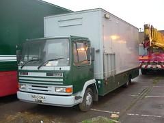 N403 DMA - John Walker (quicksilver coaches) Tags: fairground 45 walker funfair leyland longeaton daf leylanddaf showmans n403dma