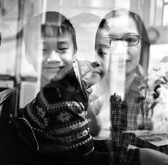 Double Exposure - Hasselblad (Anniedick_sunny) Tags: blackandwhite 120 film kodak doubleexposure hasselblad 501c