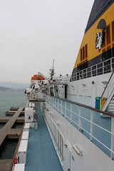 Mega Express 1 (demeeschter) Tags: sea italy port boats harbour corsica ferries vado ligure