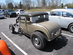 Blackjax Bar 4/10/2016 30's Ford 5 Window (Speeder1) Tags: show street cruise two hot classic ford chevrolet window car bar rat pennsylvania muscle 5 pa lane tavern rod 55 goons aces 30s willys gasket blacktop eights birdsboro blackjax