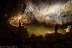 Red River Cave (JohannesLundberg) Tags: people expedition water person burma hobby peoples myanmar cave mm geology persons manuela caver kayah myanmarburma speleologist redrivercave marcboreau