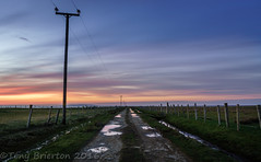 The end of the Road. (Tony Brierton) Tags: sunset sky west dusk redsky achillisland comayo slievemore 13416 loughdoo