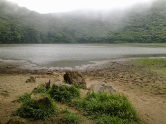 Lake in the crater of the volcano Madera (Sasha India) Tags: travel nature volcano madera nicaragua tropics ometepe isladeometepe
