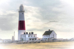 Portland Bill (diminji (Chris)) Tags: lighthouse southwest architecture buildings portland effects dorset vignette hdr westcountry portlandbill hdrtoning pixelbender
