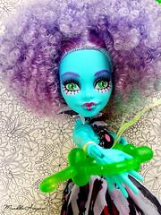 Honey  ( MarildaHungria ) Tags: monster high doll puppet du honey freak swamp chic mattel monsterhigh freakduchic