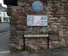 Blestium Street, Monmouth 28 April 2016 (Cold War Warrior Follow Me on Ipernity) Tags: streetsign monmouth romans blestium