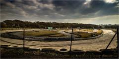 Angmering Raceway_001 (Anthony Britton) Tags: photoshop worthing bangers raceway angmering caravanracing canonesom3 1122mlens