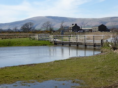 Kirkby Pool (The3Winds) Tags: bridge mountains cumbria kirkby blackcombe cumbriacoastalway