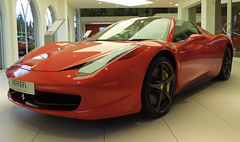 Ferrari !!! (roger.w800) Tags: car italian italia hampshire ferrari modena newforest lyndhurst exotica sportscar exoticcar italiancar ferraricars exoticcardealership meridenmodena