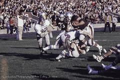 Rolling Down Hill (uselessbay) Tags: film sports canon football f1 1978 brownuniversity uselessbay canonf1 kodakektachrome100 epsonperfectionv600 uselessbayphotography williamtalley