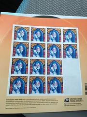 Janis Joplin stamps (JenWaller) Tags: stamps usps groovy postage 45rpm janisjoplin