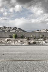 Desert Wall (autobahn66.com) Tags: california sky mountains geometric clouds landscape desert pentax fineart surreal dry minimal drought concept simple minimalist landscapephotography