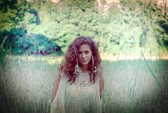 Jessica (A Screaming Comes Across the Sky) Tags: portrait film girl analog 35mm pentax k1000 outdoor superia redhead 400 fujifilm analogue xtra