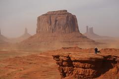 Rita at John Ford's Viewpoint (davebarratt39) Tags: arizona monumentvalley