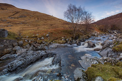 Glen Markie.. (Gordie Broon.) Tags: trees landscape geotagged scotland waterfall spring scenery alba scenic paisaje escocia hills paysage caledonia schottland ecosse collines colinas invernessshire scozia 2016 scottishhighlands heuvels whitebridge glenmarkie monadhliathmountains hugeln gordiebroonphotography sronlairiglodge riverkillin killinlodge canon5dmklll canon1635f4l glenmarkieburn alltcamban carnachoireghlaise