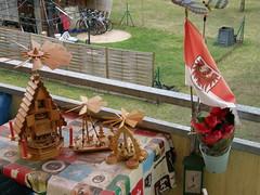 PC234850, Merry Christmas - no Snow , Temperatur + 14C , of my balkony (guenter.huth) Tags: christmas schnee hohe zu temperatur kein klimawandel weihnachtspyramiden plusgrade weihnachssternblume
