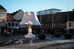 The Lamp (Hkan Dahlstrm) Tags: lamp square photography se skne sweden uncropped torg malm f71 lilla 2016 skneln gamlastaden xe2 xf35mmf14r sek 10404012016122423
