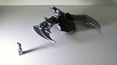 Alien Spaceship Fighter (hajdekr) Tags: fighter lego space alien spaceship predator bionicle starship battlestar moc myowncreation