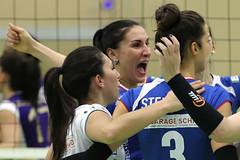 1041_R.Varadi_R.Varadi (Robi33) Tags: game girl sport ball switzerland championship team women action tournament match network volleyball block volley referees viewers aesch
