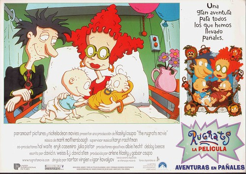 1998 RUGRATS, LA PELICULA  AVENTURAS EN PAÑALES The Rugrats