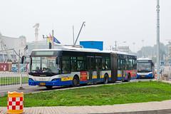 """[Buses in Beijing] Youngman Neoplan JNP6180G """"Centroliner"""" BPT #B94079 Line BRT-1 at the Temple of Heaven (tonyluan1990) Tags: beijing  publictransport brt iveco bendybus  neoplan busrapidtransit  lowfloor articulatedbus   thetempleofheaven  centroliner  eurorider cj6180gch jnp6180g beijingpublictransportholdingsltd lowentry    bisectionbus cbciveco     youngmanneoplan beijingpublictransport"""