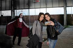 DSC_6428 (Marco Frig Photographer) Tags: girls red urban black halloween work project dark costume nikon artist factory vampire story horror diaries vampiri