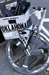 Courier Boyd Littell and his work bike-2.jpg (BikePortland.org) Tags: couriers messengers workbike bikemessengers boydlittell
