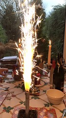 Indoor Firework (Smabs Sputzer) Tags: christmas firework incendiary stupid