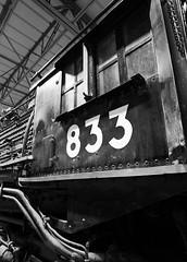 Union Pacific 4-8-4 #833 at Ogden, UT (Laurence's Pictures) Tags: railroad elephant station museum train utah pacific union engine rail railway ears steam transportation locomotive passenger ogden 833