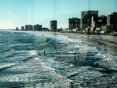 from the skywalk (-gregg-) Tags: ocean new city winter reflection beach water atlantic jersey casinos skywalk