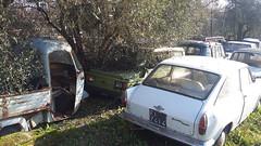 Autobianchi Primula coup (1966) e Fiat 126 MiniMax (1979) (Autogiacomo03 (Giacomo e Massimo)) Tags: fiat primula 126 prim autobianchi moretti minimax coup fiat126 autoabbandonate